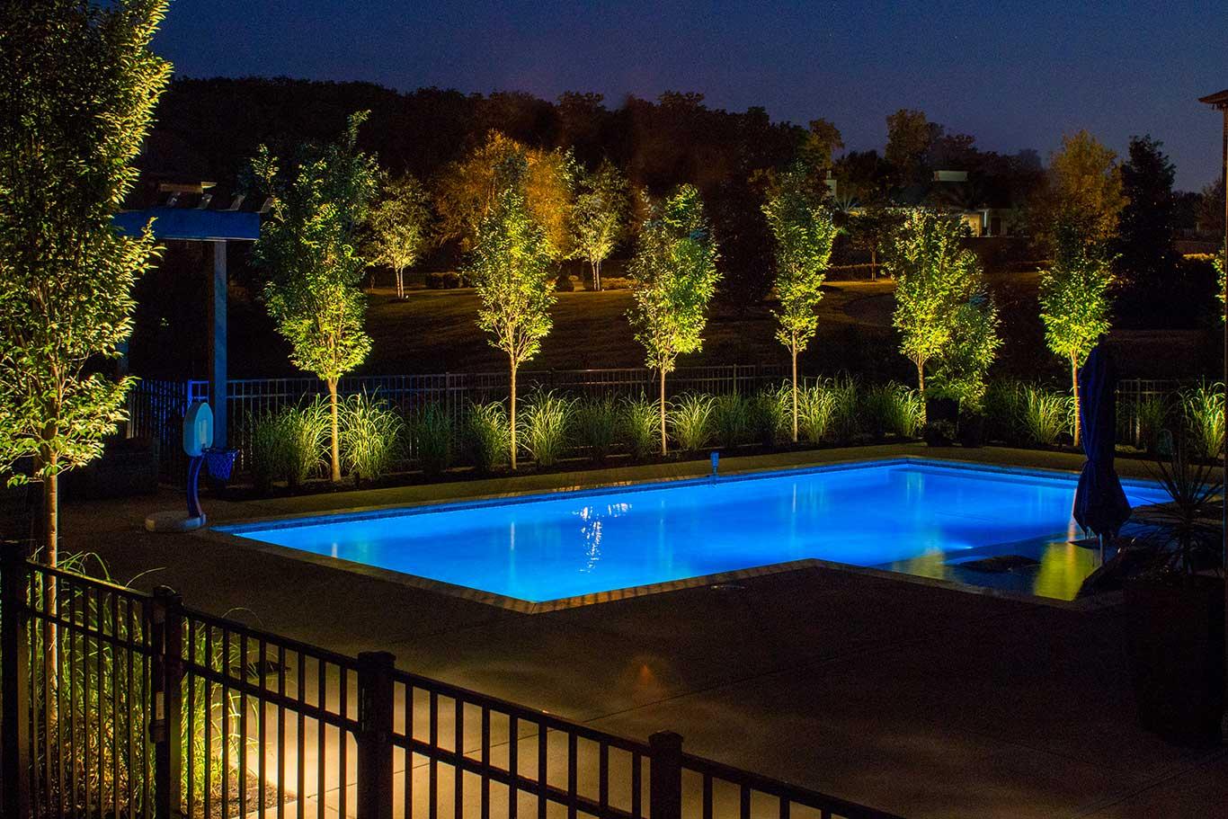 Choosing between halogen and led for your landscape lighting total landscape lighting by blue pool aloadofball Images
