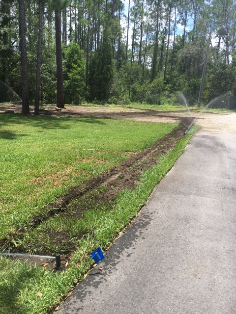 sprinkler repair and installation
