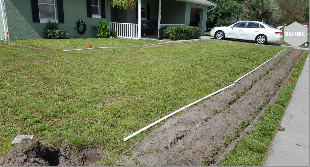 irrigation installation residential home