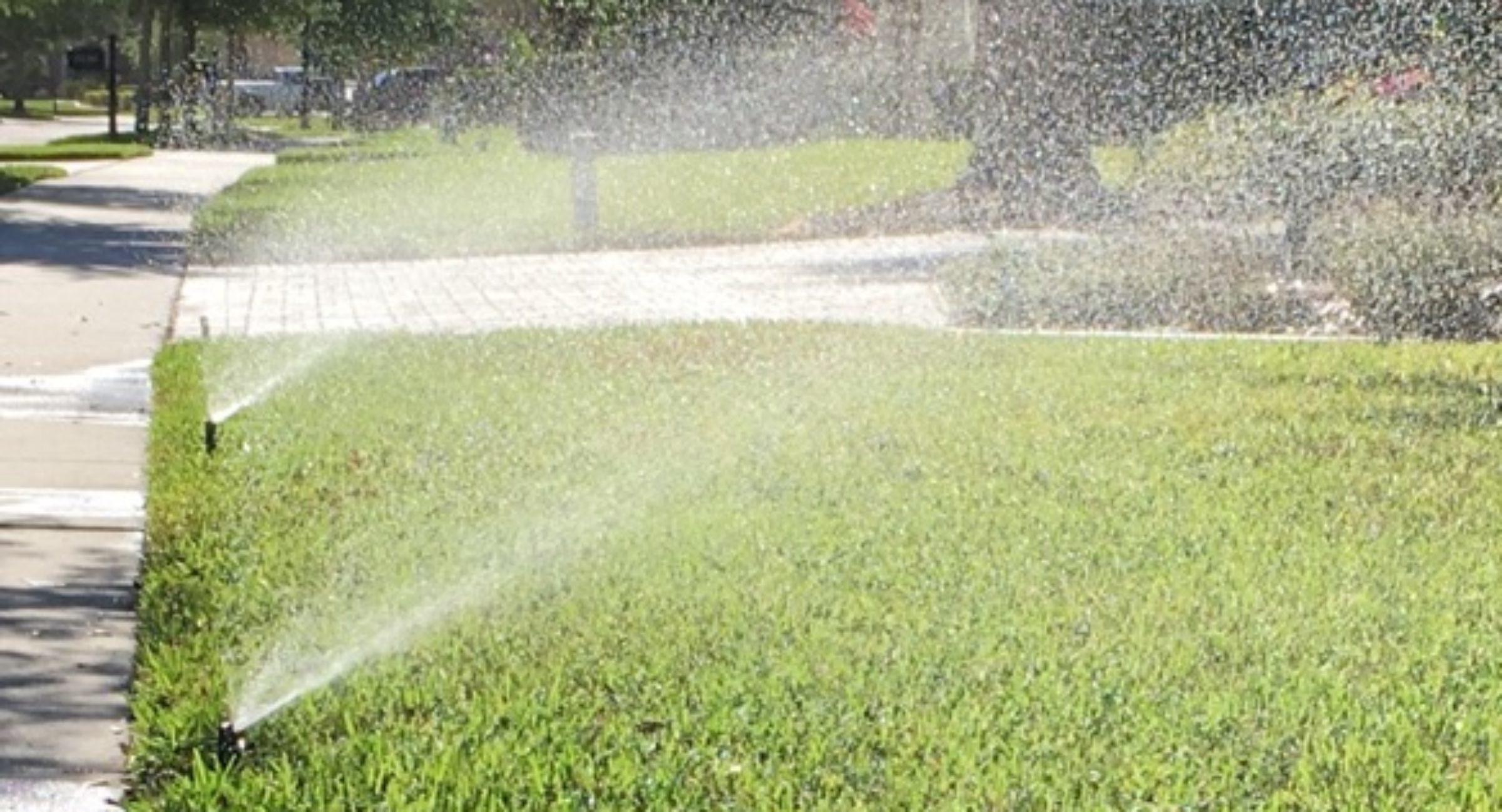 irrigation sprinkler system residential