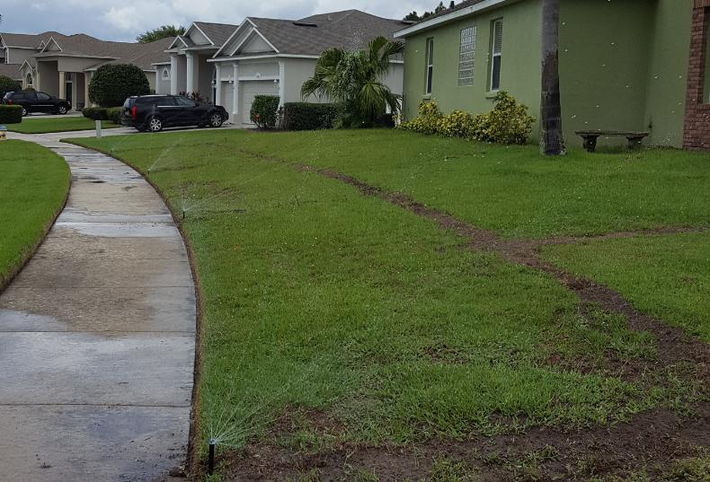 sprinkler repair, irrigation system
