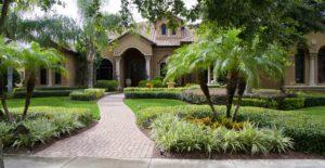 florida home residential landscape