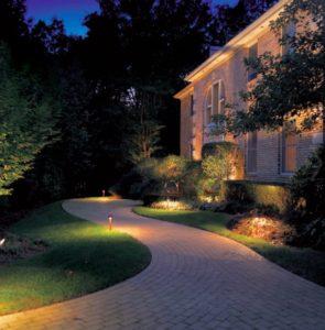 path lighting in landscape lighting system