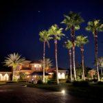 residential low-voltage landscape lighting installation