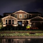 full residential low-voltage landscape lighting design and installation