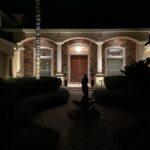 Illuminated Home Entrance