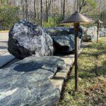 Pathlighting to Illuminate Rock Border